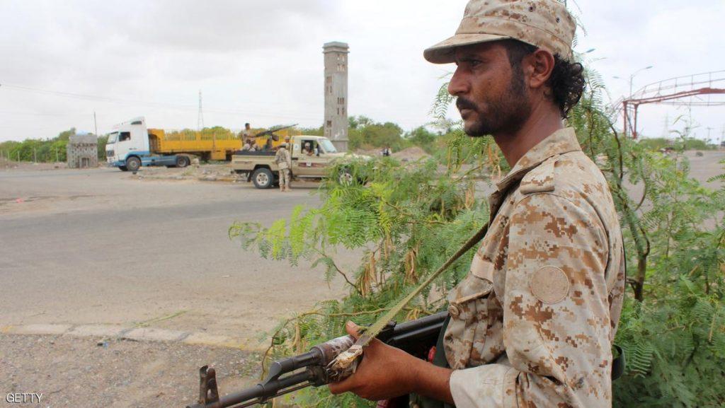 جندي للأمن في لحج