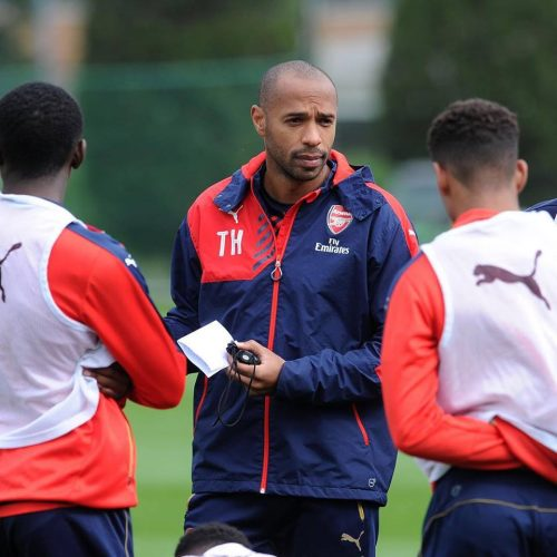 HENRY-MANAGER-ARSENAL-U19