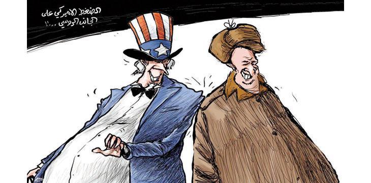 الضغط الامريكي على الروس