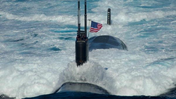 "EAST SEA - JULY 26: (EDITORS NOTE: Image has been reviewed by U.S. Military prior to transmission.) In this handout image provided by the U.S. Navy, the Los Angeles-class attack submarine USS Tuscon (SSN 770) transits the East Sea Monday, July 26, 2010 while leading a 13-ship formation. The United States and South Korea are conducting the combined alliance maritime and air readiness exercise ""Invincible Spirit"" in the seas east of the Korean peninsula from July 25-28, 2010. This is the first in a series of joint military exercises that will occur over the coming months in the East and West Seas. The exercise, the first joint drill after the sinking of the South Korean corvette Cheonan in March 2010, has drawn condemnation from Pyongyang, North Korea.   (Photo by Mass Communication Specialist 3rd Class Adam K. Thomas/U.S. Navy via Getty Images)"