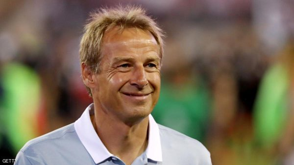 JACKSONVILLE, FL - SEPTEMBER 06:  Head coach Jurgen Klinsmann of the United States smiles following a victory against Trinidad & Tobago during the FIFA 2018 World Cup Qualifier at EverBank Field on September 6, 2016 in Jacksonville, Florida.  (Photo by Sam Greenwood/Getty Images)
