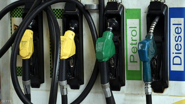Fuel pumps are pictured at a service station in New Delhi on September 29, 2016.  / AFP / Prakash SINGH        (Photo credit should read PRAKASH SINGH/AFP/Getty Images)
