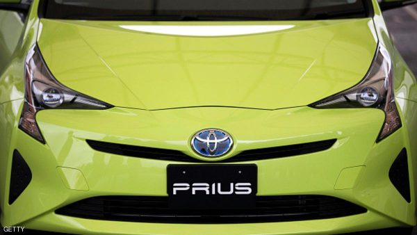 OYAMA, JAPAN - NOVEMBER 12:  A prototype of Toyota Motor Corp.'s fourth-generation Prius hybrid vehicle sits parked ahead of the test drive at the Fuji Speedway on November 12, 2015 in Oyama, Japan. The new gasoline-electric hybrid vehicle is scheduled to go on sale in Japan in December.  (Photo by Tomohiro Ohsumi/Getty Images)