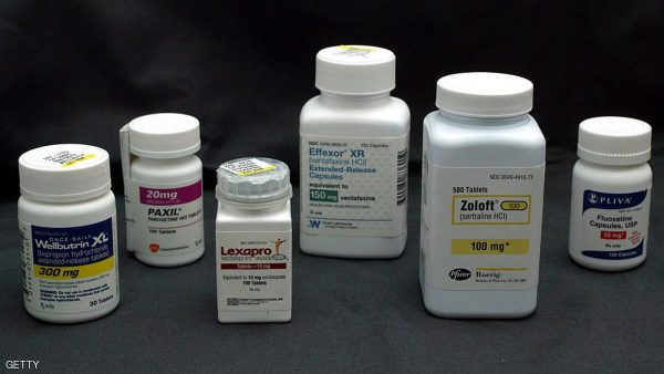 MIAMI, FL - MARCH 23:  Bottles of antidepressant pills Wellbutrin (L-R) , Paxil, Lexapro, Effexor, Zoloft and Fluoxetine are shown March 23, 2004 photographed in Miami, Florida. The Food and Drug Administration asked makers of popular antidepressants to add or strengthen suicide-related warnings on their labels as well as the possibility of worsening depression especially at the beginning of treatment or when the doses are increased or decreased.  (Photo Illustration by Joe Raedle/Getty Images)