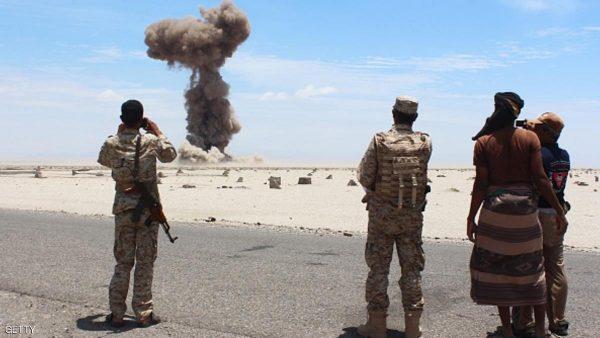 شبوة قصف القاعدة