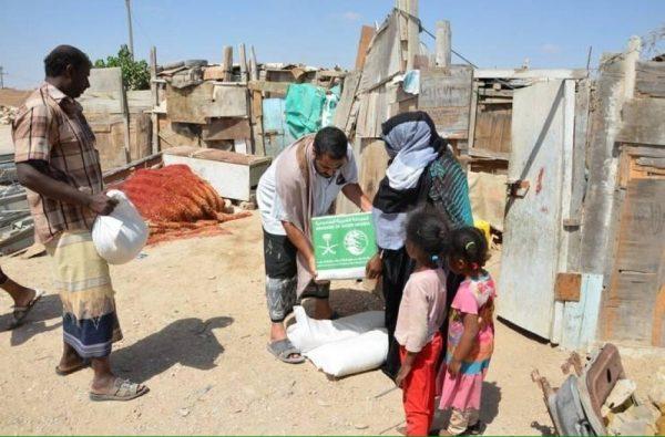 مساعدات سعودية لـ49 ألف أسرة في حضرموت