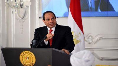السيسي: مصر تواجه تحديات لم تمر بها عبر تاريخها الحديث
