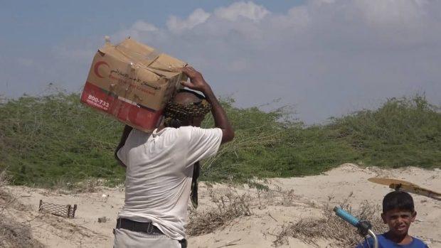 ٢٦ مشروع اماراتي في القطاع البحري ودعم للصيادين متواصل  في الساحل الغربي اليمني.